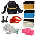 Automotive Window Tinting Kits Tools Bag w/ Felt Squeegee Film Holder Scrapers
