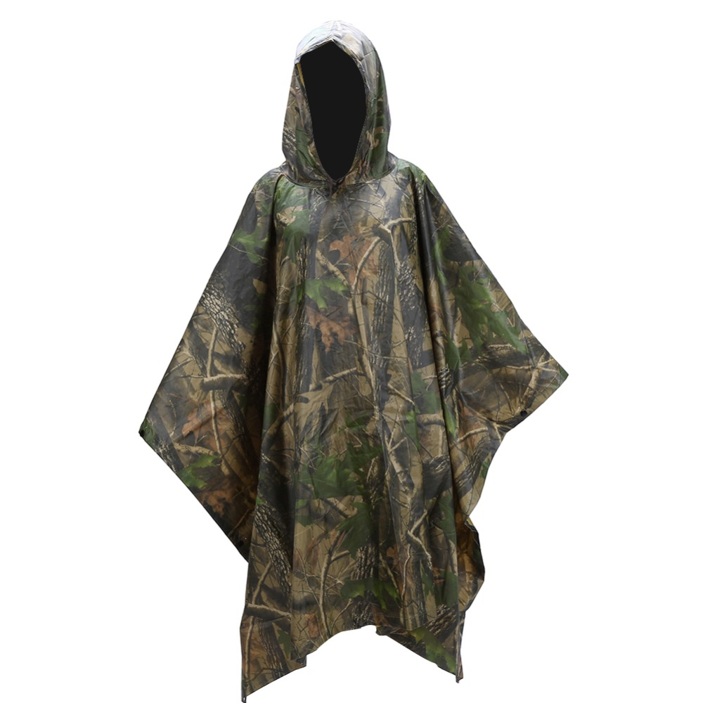 4994682a6ab59 New Rain Coat Hooded Poncho Waterproof Festival Camping Hiking Cape  Showerproof Camping & Hiking Other Hiking Clothing