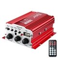 De alta potencia profesional de cuatro canales Kinter MA700 FM IR Control de FM MP3 USB Hi-fi Stereo Amplificador Digital de Potencia filtrado