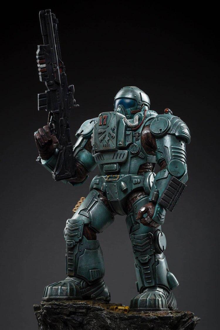 Jouet de joie 1:25 figurine robot faucon militaire modèle aéroporté poupée mécha haut 27 CM livraison gratuite