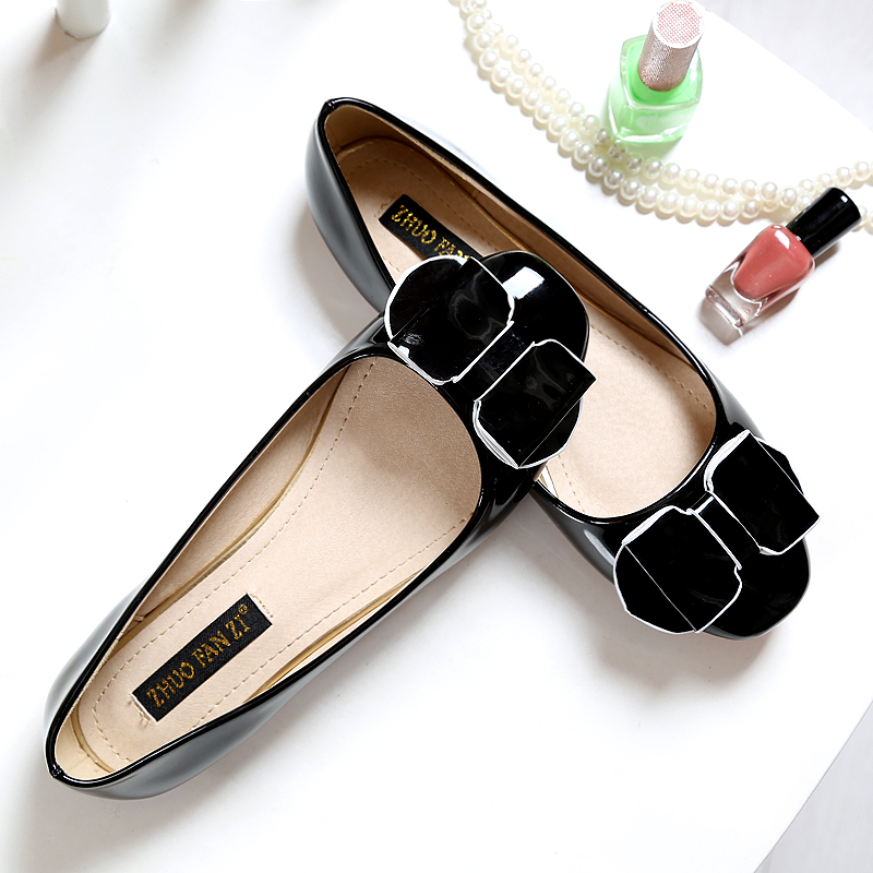 Luxury Brand Women font b Flats b font Spring And Autumn Casual Shoes Fashion Designer Woman