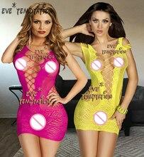 Sexy woman Fish Net Bodystockings Lingerie Babydoll dolls Underwear Chemises Teddies Bodysuits  Sleepwear Teddy 6181