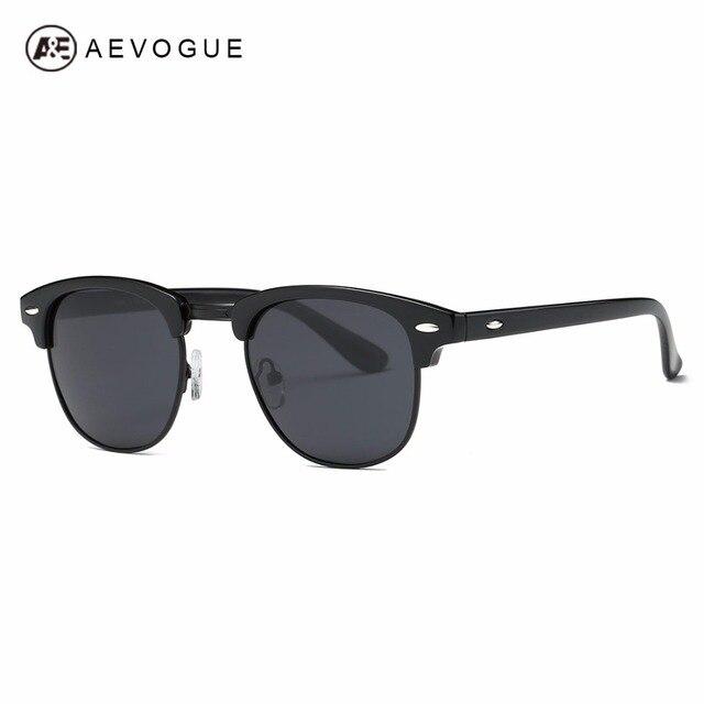5a1f41058ea06 AEVOGUE Polarized Sunglasses Men Retro Semi-Rimless Polaroid Lens Summer  Style Brand Designer Unisex Sun Glasses AE0550