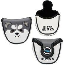 Полукруглый чехол для гольф клуба с милыми животными хаски