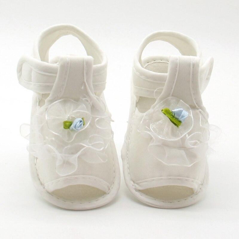 Flower Kids Sandals For Girls Summer Princess Shoes Baby Toddler Children Soft Cotton Fabric Sandal Girl Shoes