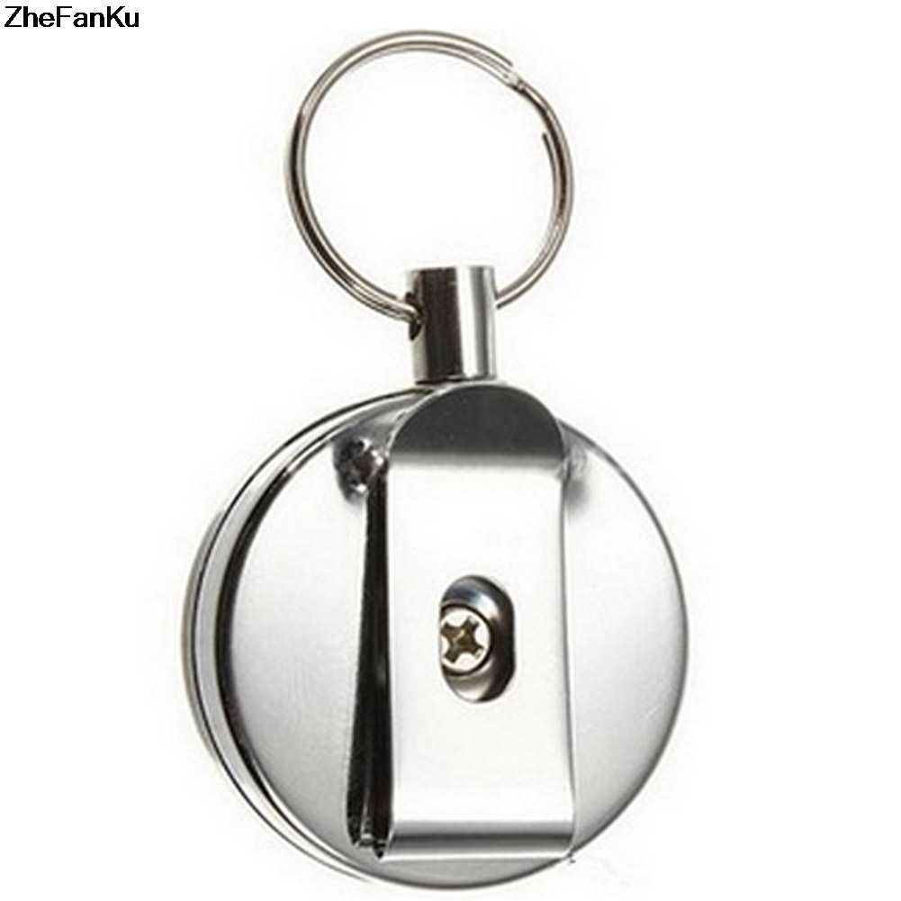 Mini Outdoor Safety Buckle เชือก Key chain Anti-Lost Keychain