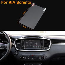 Car Styling 8 Inch GPS Navigation Screen Steel Protective Film For Kia Sorento Control of LCD Screen Car Sticker
