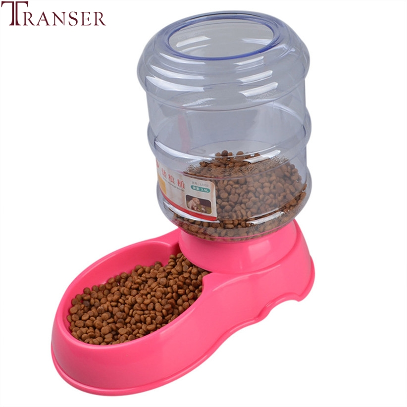 Transer Pet Feeding Supply 3.5L Automatic Dog Feeder Container Storage Cat Dog Feeding Bowl 71229