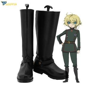 Image 1 - Сага Таня, зло, Таня, дегурепаф, обувь для косплея, сделанные на заказ сапоги