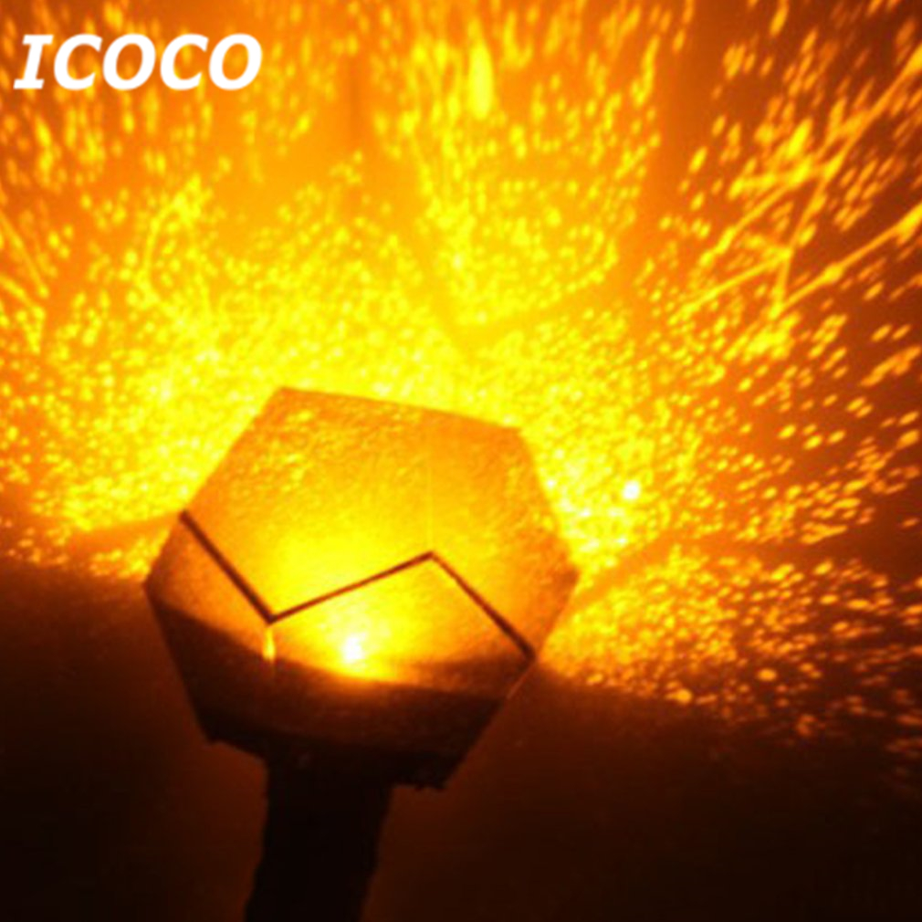 ICOCO 4th Gerneration Super Bright Celestial Cosmos Astro Star Starry Sky Projector Night Light for Home Decor Christmas Gift