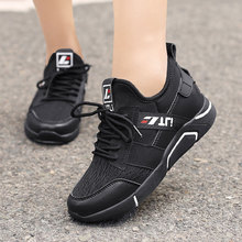 MWY Women Casual Shoes White Platform Sneakers Zaptillas Mujer Fashion Lace Up Vulcanized Breathable Outdoor Trainers