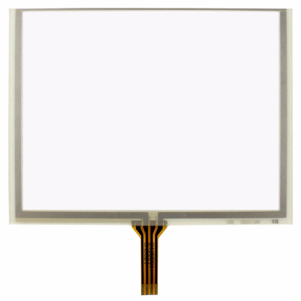 5 4 wire Resistive Touch Panel for 5inch 640x480 AT050TN22 ZJ050NA-08C LCD nl6448bc33 27 10 4 inch 640 480 100