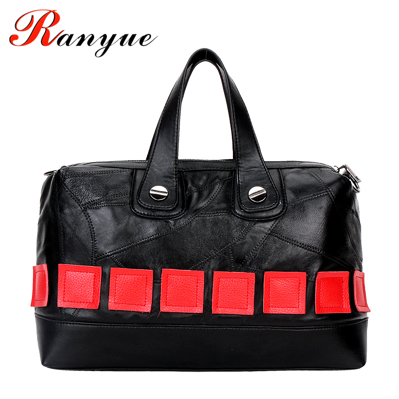 Genuine Leather Shoulder Bags Women Famous Brands 2007 New Real Sheepskin Women Handbags High Quality Plaid Tote Bag Ladies Sac lt 810 10a led constant voltage dmx pwm decoder 1ch dimming dedicated 10a 1channel output