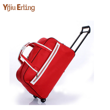 Women Waterproof High Capacity Travel Bag Thick Style Rolling Suitcase Trolley Luggage Lady Men Travel Bags Suitcase with Wheels danxilong 20 22 24 inch men pu retro business suitcase bags with rod seyahat bavul high end travel trolley case rolling luggage