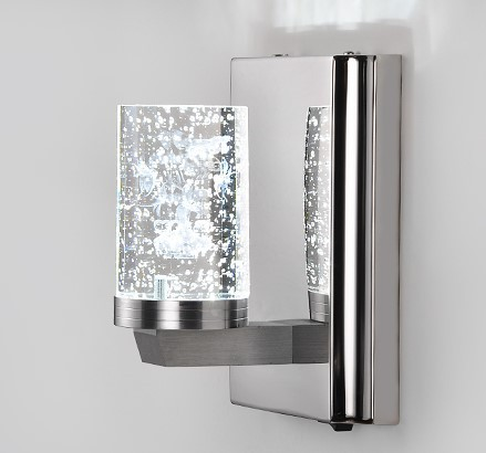 led wall lamps electroplating modern led bathroom wall