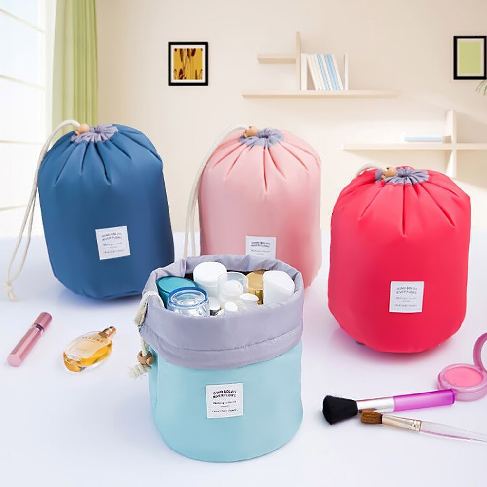Waterproof Cosmetics Bags Makeup Brushes Blusher Powder Brushes Face Cleanser Box Big Capacity Travel Bag Beauty Tools Container