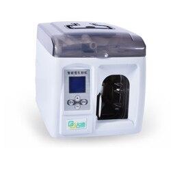 1 PC wysokiej jakości 220 V inteligentny banknotów spoiwa łączenie Machine pieniądze Packer pieniądze karteczki do notowania maszyna do