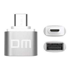 Image 2 - Adaptador DM OTG B función OTG convertir USB normal en teléfono USB Flash Drive adaptadores de teléfono móvil