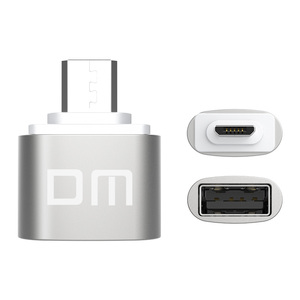 Image 2 - DM OTG B adaptor OTG function Turn normal USB into Phone USB Flash Drive Mobile Phone Adapters