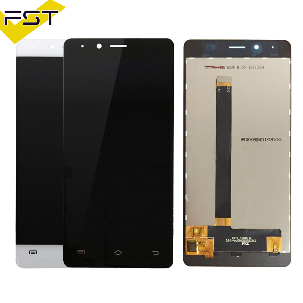 High Quality Tested Well For BQ BQS-5060 BQS 5060 Slim LCD Display +Touch Screen digitizer Assembly+Free Tool For BQ S 5060 LCD