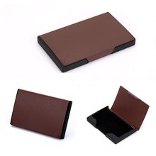 Wholesale New Card Holder Women And Men Business ID Holders Aluminium Metal Credit Fashion Name Case