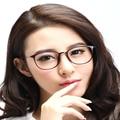 Chashma luneta de vue femme Moda Rodada Eyewear ULTEM Armações Retro Dos Vidros Do Olho Quadros de Luz para Homens e Mulheres