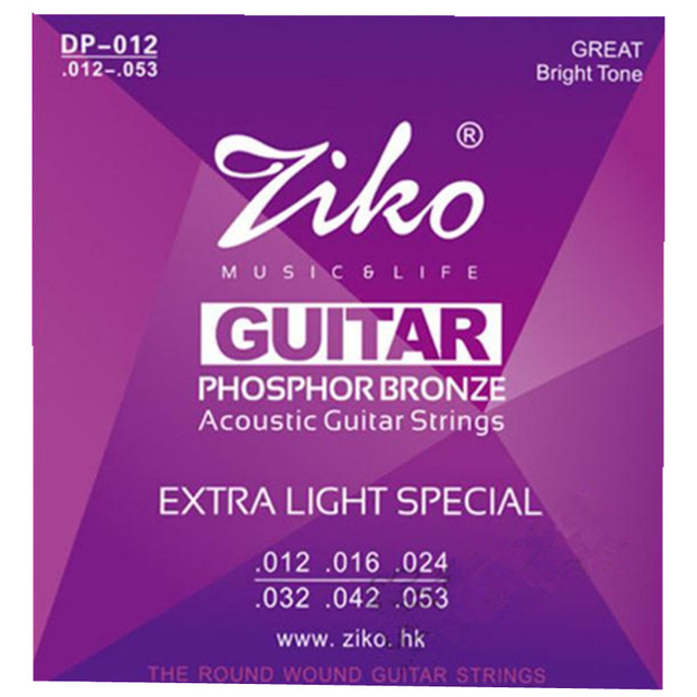 012 053 ziko acoustic guitar strings guitar parts wholesale musical instruments accessories dp. Black Bedroom Furniture Sets. Home Design Ideas