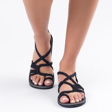 Laamei Sandals Fashion 2019 New Women Su