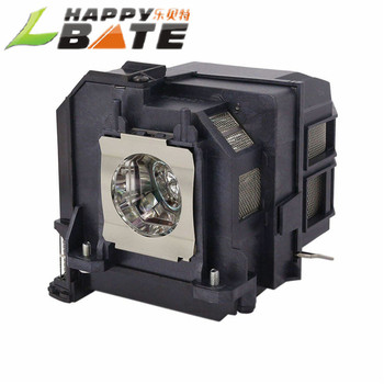 HAPPYBATE Compatible Projectors  Lamp with housing ELPLP90 / V13H010L90 for UHE 215/140W0.8 E19.4 CB-680Wi/CB-675Wi