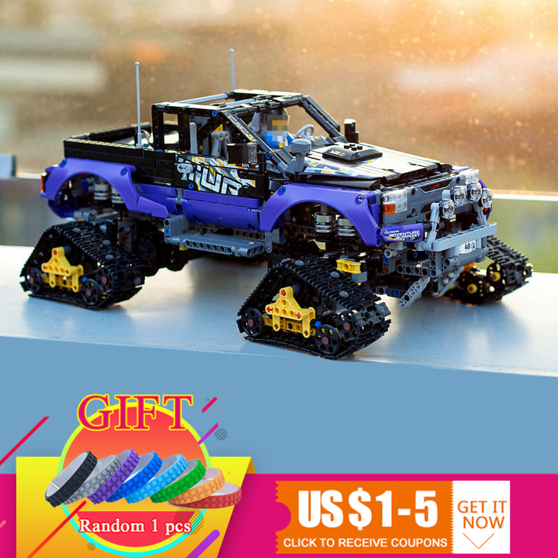 20057 2050Pcs Technical Series The Ultimate Extreme Adventure Car Set compatible with 42069 Building Blocks Bricks Toys 2050pcs 2in1 techinic extreme adventure