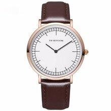 Г-жа мужчина пара простой Повседневное кожаный ремень кварцевые часы 2018 Новый момент спортивные наручные часы лучший бренд класса люкс 42 Z