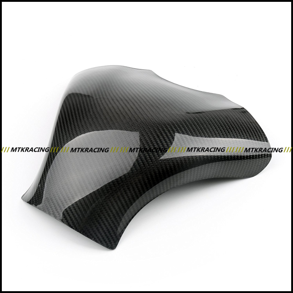 Free shipping Carbon Fiber Fuel Gas Tank Protector Pad Shield For KAWASAKI ZX-6R ZX6R 2007-2008 black color motorcycle accessories carbon fiber fuel gas tank protector pad shield rear carbon fiber for kawasaki z1000 03 06