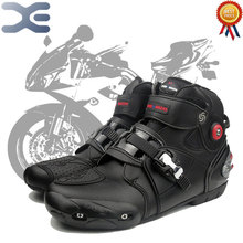 Botas de Equitação da motocicleta Estrada Respirável Off-road Botas de Corrida Em Execução Sapatos Botas de Locomotivas