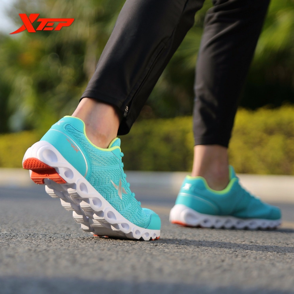 XTEP Brand Professional Running for Men LightWeight Air Mesh Breathable Men's Shoes Athletic Sport Sneakers apple brand men breathable air mesh running shoes weaving outdoor athletic zapatillas sport jogging sneakers walking shoes