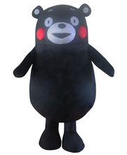 Kumamon Bear Mascot Costume Custom Fancy Dress Cosplay Kits Cartoon Character Carnival  Halloween party