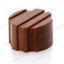 Polycarbonat schokoladenform, 21 tassen, moldes de policarbonato para schokolade, hohl schokoladenformen, DIY schokolade, die werkzeuge