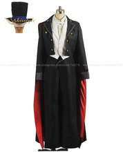Kisstyle Мода Сейлор Мун смокинг маска Тиба Мамору косплей костюм, индивидуальные Любой размер принято