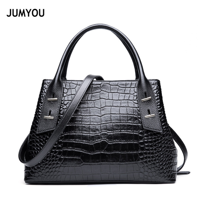 100% Genuine Leather Luxury Handbags Women Bag Designer Crossbody Bags