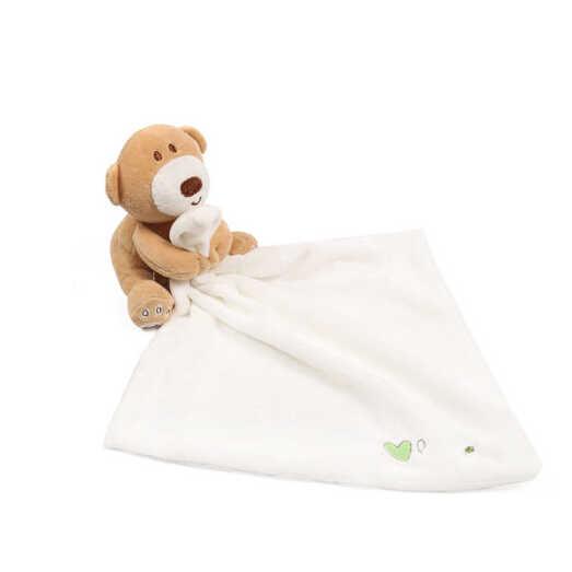 Pudcoco bebê infantil berçário da criança segurança dos desenhos animados suave banho cobertor de brinquedo animal