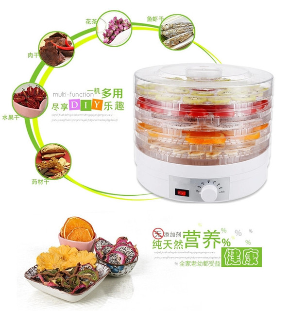 Wholesale Kitchen Appliances Diy Rolling Island 4pcs Lot Dried Meal Food Dehydrator Fruit Dryer Household