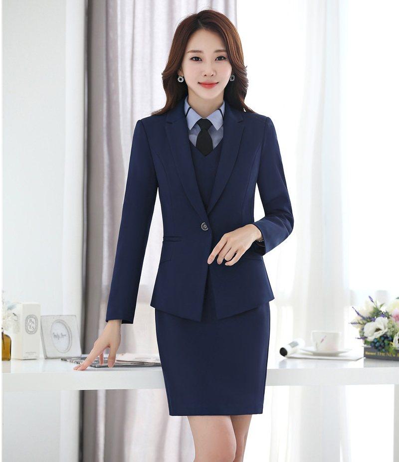 Online Shop Formal Office Lady Dress Suits For Women Business Suits