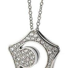 Звездная Луна AAAA+ стразы, ожерелье с кристаллами, цепочка на свитер, модные ювелирные изделия, Прямая поставка, качественные трендовые Подарки для женщин и девушек