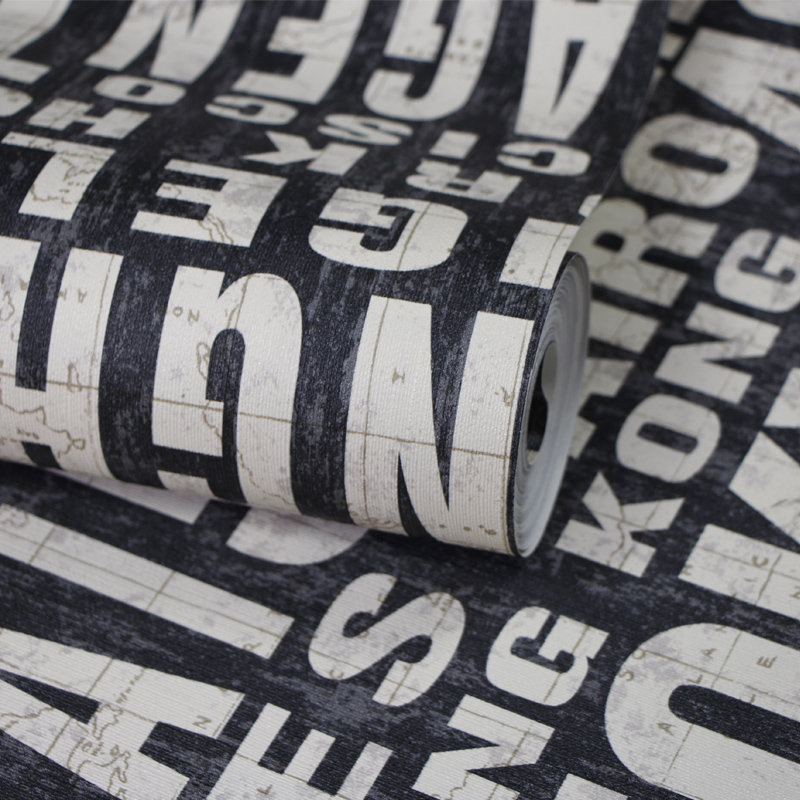 Online buy wholesale h letter wallpaper from china h for Living room 6 letters