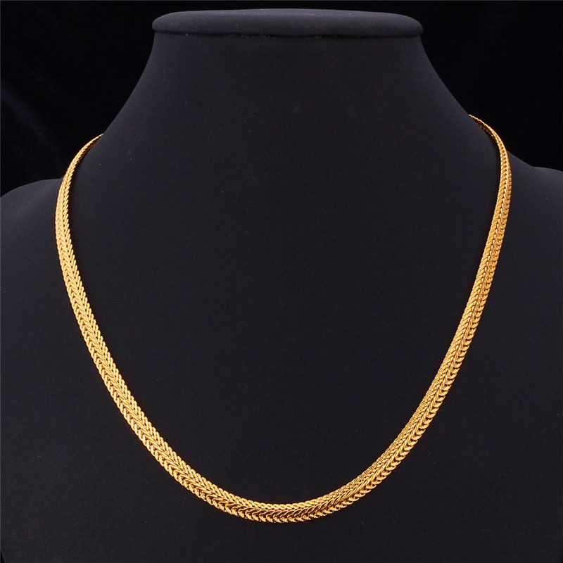 junkie l label gold the black necklace and chunky