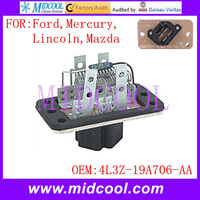 Nuevo uso Blower Motor Resistor OE NO. 4L3Z-19A706-AA para Ford Mercury Lincoln Mazda