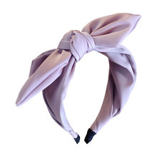 Rabbit Ears Cloth Bow Headband Women Girls Hair Head Hoop Bands Accessories For Girl Hairbands Fancy headbands цены