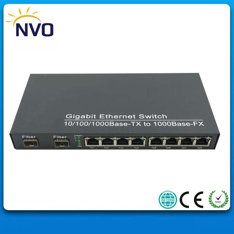2 pz/lotto, 1000 M 8RJ45 + 1000 M 2SFP, Euro Charger, alimentatore Esterno, Non Gestito Multi SFP In Fibra Ottica Ethernet In Fibra Ottica Switch2 pz/lotto, 1000 M 8RJ45 + 1000 M 2SFP, Euro Charger, alimentatore Esterno, Non Gestito Multi SFP In Fibra Ottica Ethernet In Fibra Ottica Switch