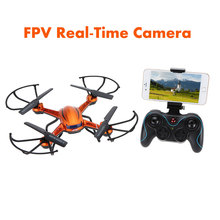 JJRC H12W 2.4G 4 CH 6-Axis Gyro Wifi FPV Quadcopter with Headless Mode and 3D Roll RC Drone with 2.0MP HD Camera