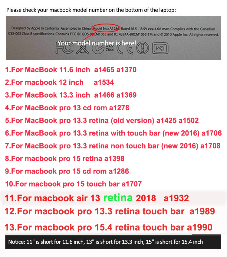 Image 3 - Laptop Sleeve Case Bag for Macbook Air 11 13 Pro 13 New Retina 13 Cover Notebook Portable Handbag 14 13.3 15.6-in Laptop Bags & Cases from Computer & Office