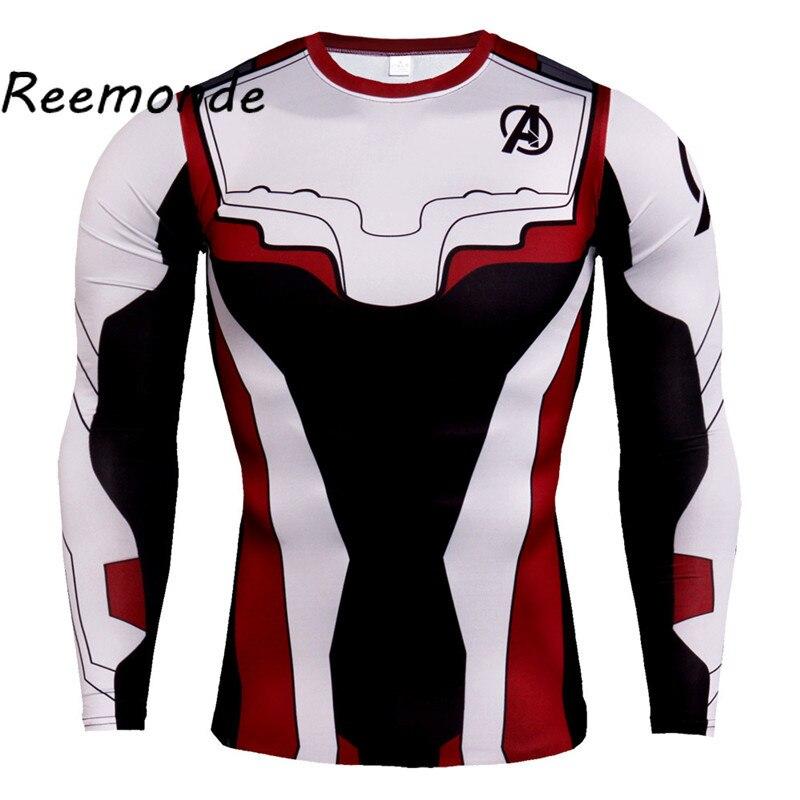 New Fashion Avengers 4 Endgame Quantum Realm Kids T-shirt Advanced Tech Tops Tee